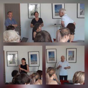 Photos de la réunion